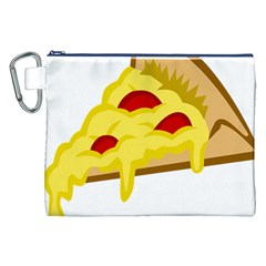 Pasta Salad Pizza Cheese Canvas Cosmetic Bag (xxl) by Alisyart