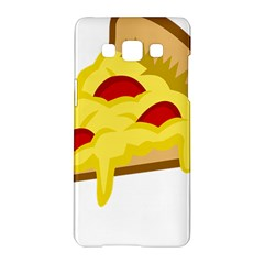 Pasta Salad Pizza Cheese Samsung Galaxy A5 Hardshell Case  by Alisyart