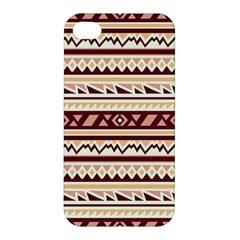 Pattern Tribal Triangle Apple Iphone 4/4s Hardshell Case by Alisyart