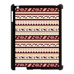 Pattern Tribal Triangle Apple Ipad 3/4 Case (black) by Alisyart