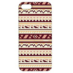 Pattern Tribal Triangle Apple Iphone 5 Hardshell Case With Stand by Alisyart