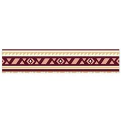 Pattern Tribal Triangle Flano Scarf (small) by Alisyart