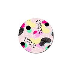 Pink Circle Red Pattern,sexy Golf Ball Marker (10 Pack) by Alisyart