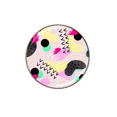 Pink Circle Red Pattern,sexy Hat Clip Ball Marker (4 Pack) by Alisyart