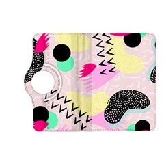 Pink Circle Red Pattern,sexy Kindle Fire Hd (2013) Flip 360 Case by Alisyart