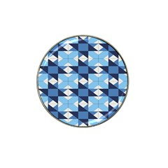 Radiating Star Repeat Blue Hat Clip Ball Marker (4 Pack) by Alisyart