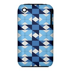 Radiating Star Repeat Blue Iphone 3s/3gs by Alisyart