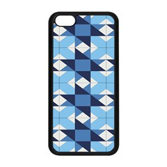 Radiating Star Repeat Blue Apple Iphone 5c Seamless Case (black) by Alisyart