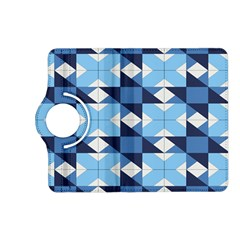 Radiating Star Repeat Blue Kindle Fire Hd (2013) Flip 360 Case by Alisyart
