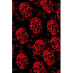Sparkling Glitter Skulls Red 5 5  X 8 5  Notebooks by ImpressiveMoments