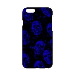 Sparkling Glitter Skulls Blue Apple Iphone 6/6s Hardshell Case by ImpressiveMoments