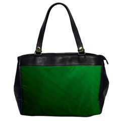Green Beach Fractal Backdrop Background Office Handbags by Simbadda