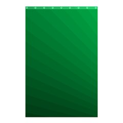 Green Beach Fractal Backdrop Background Shower Curtain 48  X 72  (small)  by Simbadda