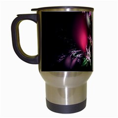 Colour Of Nature Fractal A Nice Fractal Coloured Garden Travel Mugs (white) by Simbadda