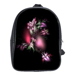 Colour Of Nature Fractal A Nice Fractal Coloured Garden School Bags(large)  by Simbadda