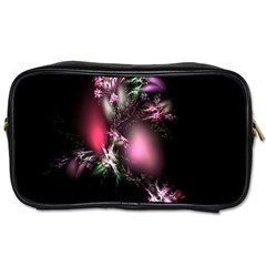 Colour Of Nature Fractal A Nice Fractal Coloured Garden Toiletries Bags by Simbadda