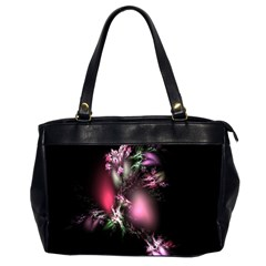 Colour Of Nature Fractal A Nice Fractal Coloured Garden Office Handbags (2 Sides)  by Simbadda