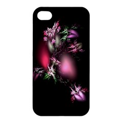 Colour Of Nature Fractal A Nice Fractal Coloured Garden Apple Iphone 4/4s Premium Hardshell Case by Simbadda