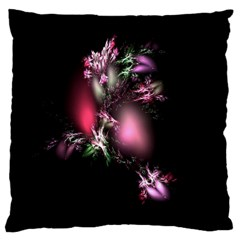 Colour Of Nature Fractal A Nice Fractal Coloured Garden Large Cushion Case (two Sides) by Simbadda