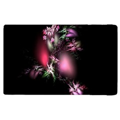 Colour Of Nature Fractal A Nice Fractal Coloured Garden Apple Ipad 2 Flip Case by Simbadda