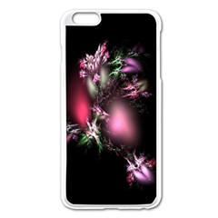 Colour Of Nature Fractal A Nice Fractal Coloured Garden Apple Iphone 6 Plus/6s Plus Enamel White Case by Simbadda