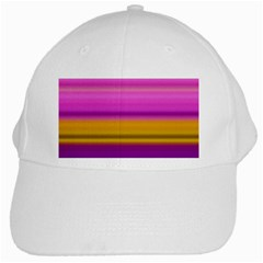Stripes Colorful Background Colorful Pink Red Purple Green Yellow Striped Wallpaper White Cap by Simbadda