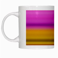 Stripes Colorful Background Colorful Pink Red Purple Green Yellow Striped Wallpaper White Mugs by Simbadda