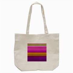 Stripes Colorful Background Colorful Pink Red Purple Green Yellow Striped Wallpaper Tote Bag (cream) by Simbadda