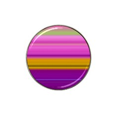 Stripes Colorful Background Colorful Pink Red Purple Green Yellow Striped Wallpaper Hat Clip Ball Marker (10 Pack) by Simbadda