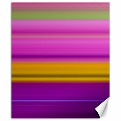Stripes Colorful Background Colorful Pink Red Purple Green Yellow Striped Wallpaper Canvas 20  X 24   by Simbadda