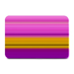 Stripes Colorful Background Colorful Pink Red Purple Green Yellow Striped Wallpaper Plate Mats by Simbadda