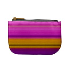 Stripes Colorful Background Colorful Pink Red Purple Green Yellow Striped Wallpaper Mini Coin Purses by Simbadda