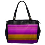 Stripes Colorful Background Colorful Pink Red Purple Green Yellow Striped Wallpaper Office Handbags Front