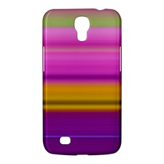 Stripes Colorful Background Colorful Pink Red Purple Green Yellow Striped Wallpaper Samsung Galaxy Mega 6 3  I9200 Hardshell Case by Simbadda