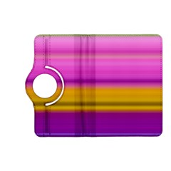 Stripes Colorful Background Colorful Pink Red Purple Green Yellow Striped Wallpaper Kindle Fire Hd (2013) Flip 360 Case by Simbadda