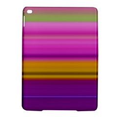 Stripes Colorful Background Colorful Pink Red Purple Green Yellow Striped Wallpaper Ipad Air 2 Hardshell Cases by Simbadda
