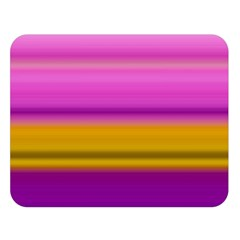 Stripes Colorful Background Colorful Pink Red Purple Green Yellow Striped Wallpaper Double Sided Flano Blanket (large)  by Simbadda