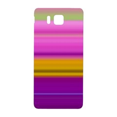 Stripes Colorful Background Colorful Pink Red Purple Green Yellow Striped Wallpaper Samsung Galaxy Alpha Hardshell Back Case by Simbadda