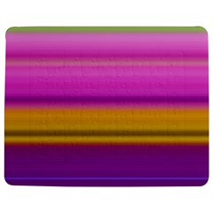 Stripes Colorful Background Colorful Pink Red Purple Green Yellow Striped Wallpaper Jigsaw Puzzle Photo Stand (rectangular) by Simbadda