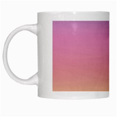 Watercolor Paper Rainbow Colors White Mugs by Simbadda
