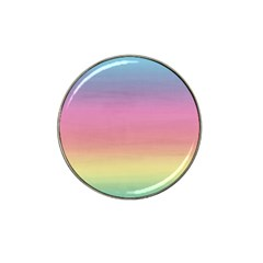 Watercolor Paper Rainbow Colors Hat Clip Ball Marker (4 Pack) by Simbadda
