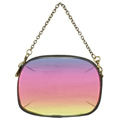 Watercolor Paper Rainbow Colors Chain Purses (one Side)  by Simbadda