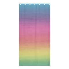 Watercolor Paper Rainbow Colors Shower Curtain 36  X 72  (stall)  by Simbadda