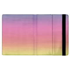 Watercolor Paper Rainbow Colors Apple Ipad 2 Flip Case by Simbadda