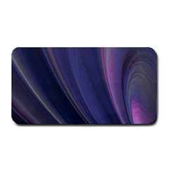 A Pruple Sweeping Fractal Pattern Medium Bar Mats by Simbadda