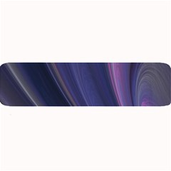 A Pruple Sweeping Fractal Pattern Large Bar Mats by Simbadda