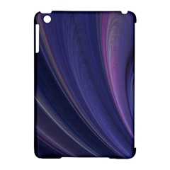A Pruple Sweeping Fractal Pattern Apple Ipad Mini Hardshell Case (compatible With Smart Cover) by Simbadda