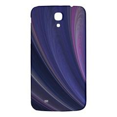 A Pruple Sweeping Fractal Pattern Samsung Galaxy Mega I9200 Hardshell Back Case by Simbadda