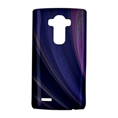 A Pruple Sweeping Fractal Pattern Lg G4 Hardshell Case by Simbadda