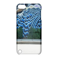 Mural Wall Located Street Georgia Usa Apple Ipod Touch 5 Hardshell Case With Stand by Simbadda